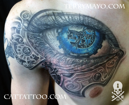 Tattoos - Mechanical Eye - 93729